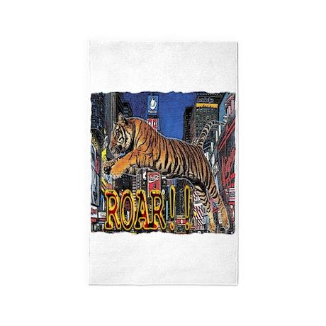 Tiger Roar 3'x5' Area Rug