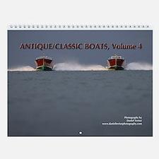 Antique/Classic Boats, Vol. 4 Wall Calendar