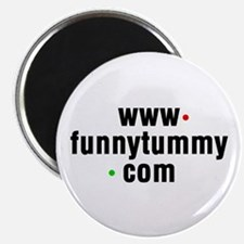 """Funny Tummy 2.25"""" Magnet (100 pack)"""