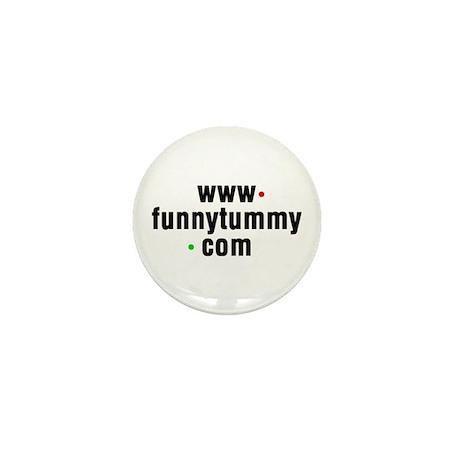 Funny Tummy Mini Button