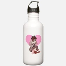 Pink Cotton Candy Cabaret Water Bottle