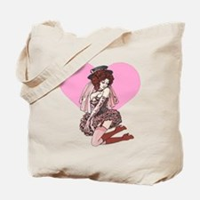 Pink Cotton Candy Cabaret Tote Bag