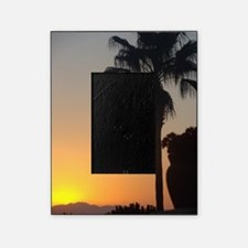 Sunset with Palm Picture Frame