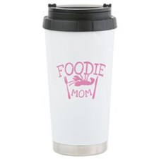 Foodie Mom with a lobster on a plate Travel Mug