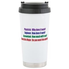 Cute Funny science Travel Mug
