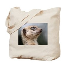 Meerkat Searching the Skies Tote Bag