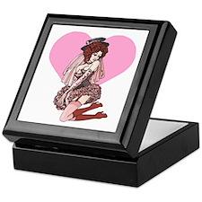 Pink Cotton Candy Cabaret Keepsake Box