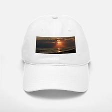 Sunset Baseball Baseball Cap