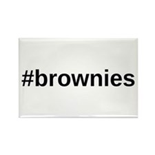 Hashtag Brownies Magnets