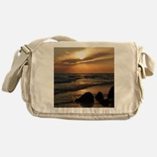 Sunset Messenger Bag