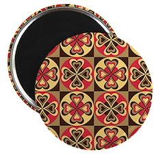 Folk Hearts Magnet