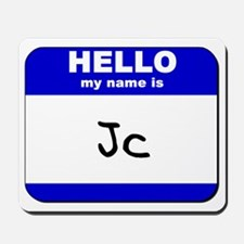 hello my name is jc  Mousepad