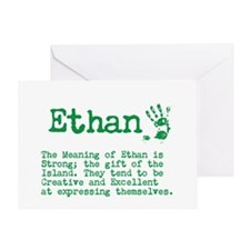 The Meaning Of Ethan Greeting Cards