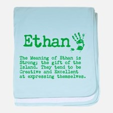 The Meaning of Ethan baby blanket
