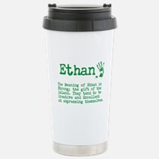 The Meaning of Ethan Travel Mug
