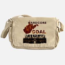 Hardcore Coal Miner WV Messenger Bag