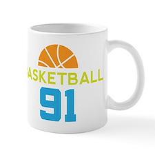 Custom Basketball Player 91 Mug