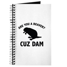 Are You A Beaver? Cuz Dam Journal