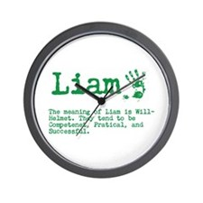 The Meaning of Liam Wall Clock