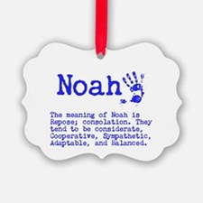 The Meaning of Noah Ornament