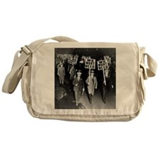 We Want Weed! Protest Messenger Bag