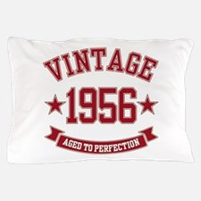 1956 Vintage Aged to Perfection Pillow Case