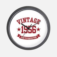 1956 Vintage Aged to Perfection Wall Clock