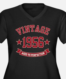 1956 Vintage Aged to Perfection Women's Plus Size