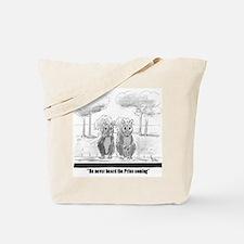 squirrel vs. Prius Tote Bag