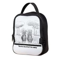 squirrel vs. Prius Neoprene Lunch Bag