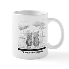 squirrel vs. Prius Mugs