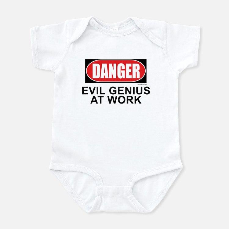 Evil Genius Infant Bodysuit