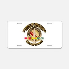 16th Military Police Group w SVC Ribbon Aluminum L