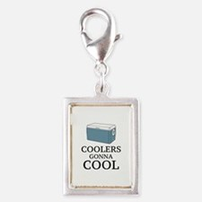 Coolers Gonna Cool Silver Portrait Charm