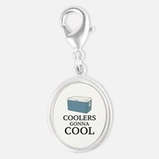 Coolers Gonna Cool Silver Oval Charm