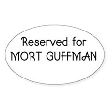 Reserved for Mort Guffman Decal