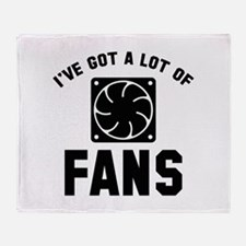 I've Got A Lot Of Fans Stadium Blanket