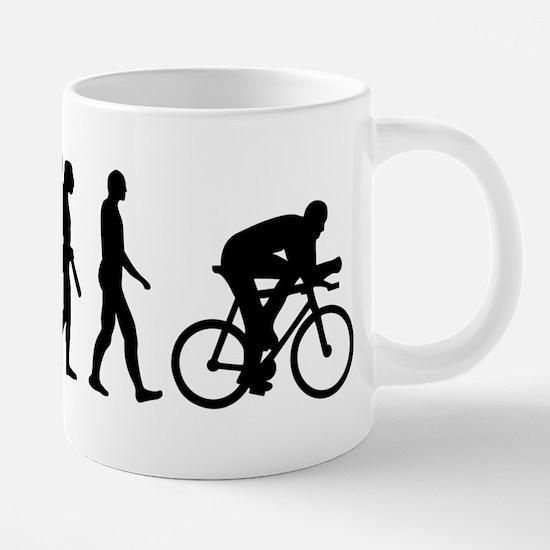 Evolution cycling bike Mugs