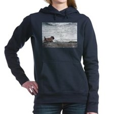 Fiona takes on the ocean Hooded Sweatshirt