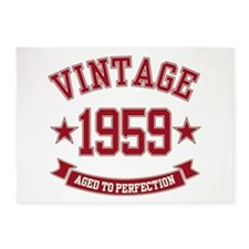 1959 Vintage Aged to Perfection 5'x7'Area Rug