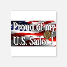 Proud of my U.S. Sailor Sticker