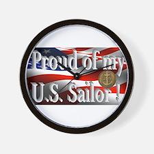Proud of my U.S. Sailor Wall Clock