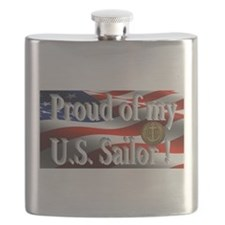 Proud of my U.S. Sailor Flask