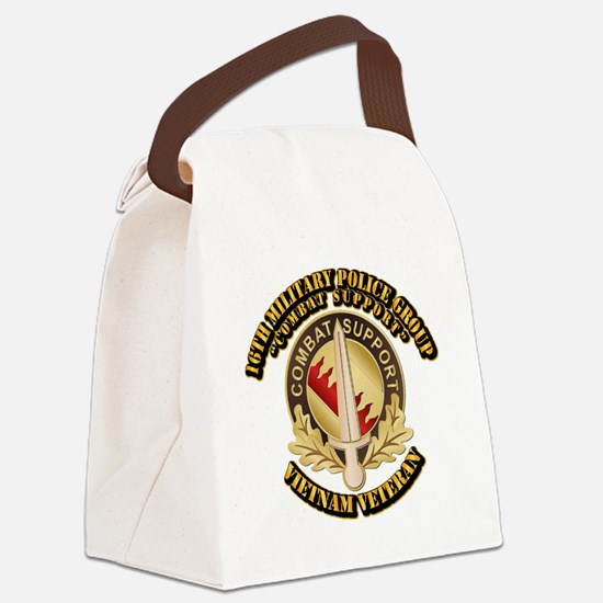 16th Military Police Group Canvas Lunch Bag