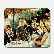 Renoir: The Luncheon of the Boating Part Mousepad