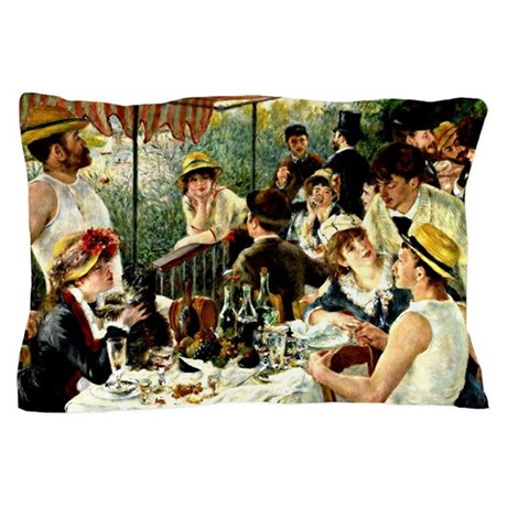 Renoir: The Luncheon of the Boating Pa Pillow Case