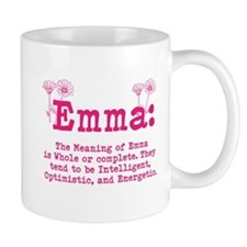 Emma Personalized Name Mugs