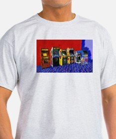Four Standups and a Cockpit Painting T-Shirt
