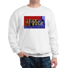 Four Standups and a Cockpit Painting Sweatshirt