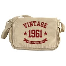 1961 Vintage Aged To Perfection Messenger Bag